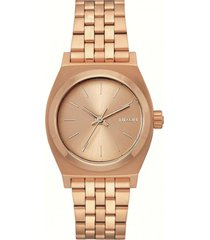 reloj medium time teller rosa nixon