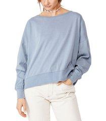 cotton on oversize drop shoulder long sleeve top