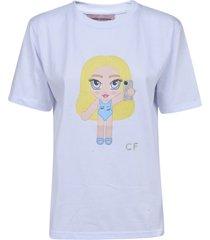 chiara ferragni mascotte eyelike t-shirt