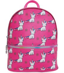 omg! accessories lil' miss gwen printed mini backpack