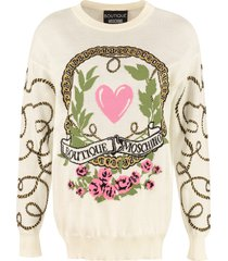 boutique moschino jacquard pullover