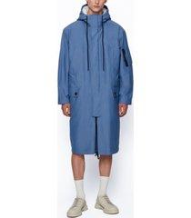 boss men's water-repellent canvas coat