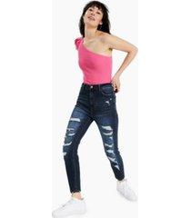 vanilla star juniors' real cheeky ripped skinny jeans
