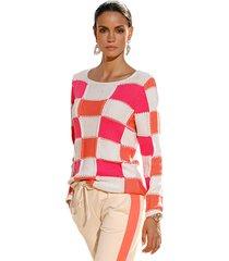 trui amy vermont zand::pink::oranje
