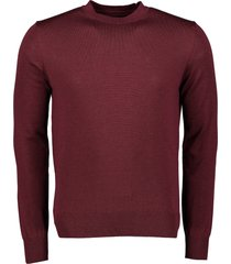 nils pullover - slim fit - bordeaux
