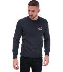 mens suede c logo sweatshirt