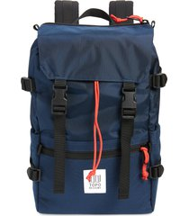 topo designs classic rover backpack - blue