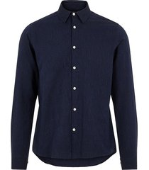 tailor pinstripe slim shirt