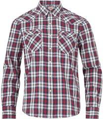 skjorta barstow western bodhran crimson