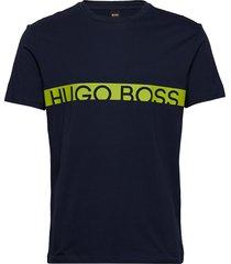 t-shirt rn t-shirts short-sleeved blå boss