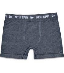 underwear new era cueca boxer new era brasil mescla cinza - cinza - masculino - dafiti