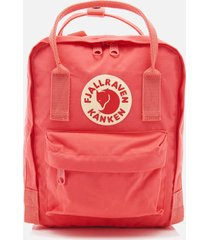 fjallraven women's kanken mini backpack - peach pink