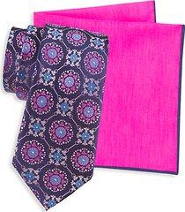 2-piece tie & pocket square set