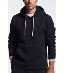 recycled double knit hoodie