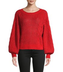 joie women's pravi sweater - scarlet - size xs