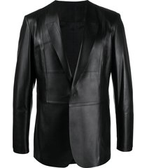 1017 alyx 9sm notched lapel single breasted blazer - black