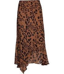 rafaela sk knälång kjol brun part two