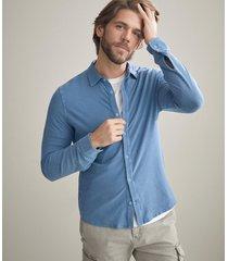 maglia camicia fiammata