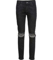 pantaloni con perle (nero) - rainbow