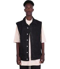 'oversized denim worker' jacket