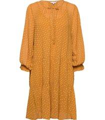 banu dr jurk knielengte oranje part two