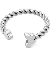 anillo farfallette plateado swatch