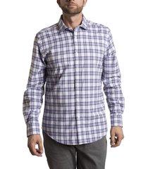camisa tartan flex morado rockford