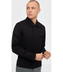 premium by jack & jones jprlock jacket bla jackor svart