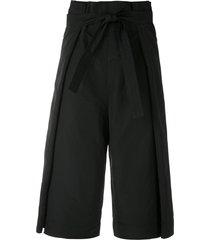 uma raquel davidowicz acapulco skirt culottes - black