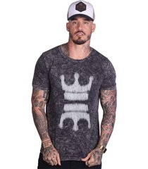 camiseta royal brand double crown cinza