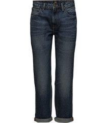 boyfriend raka jeans blå lee jeans
