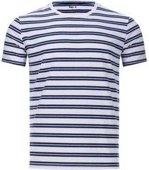 camiseta a rayas delgadas