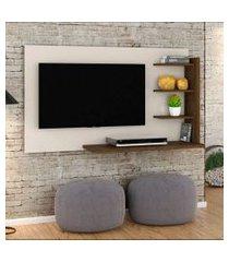painel para tv 42 polegadas julia 136 cm off white savana