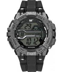 reloj bolt digital gris oscuro cat