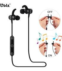 audifonos, m2 smart magnetic power auriculares inalámbricos deportivos anti-sudor auriculares de metal en los auriculares para sony iphone samsung (negro)