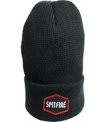 gorro cuff beanie negro spitfire