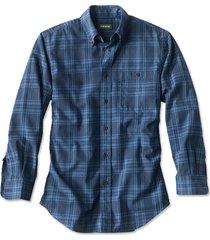 signature twill long-sleeved shirt / regular, midnight blue, xx large
