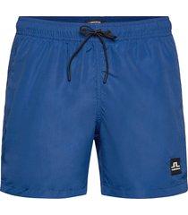 banks-solid swim zwemshorts blauw j. lindeberg