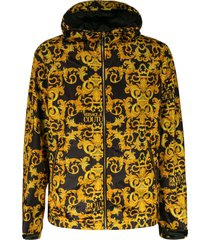 versace jeans couture printed reversible jacket