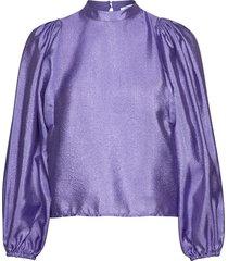 harriet blouse 11244 blouse lange mouwen paars samsøe & samsøe