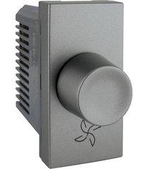 módulo dimmer rotativo para ventilador 110v arteor magnésio