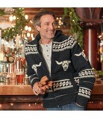 longhorn sweater jacket
