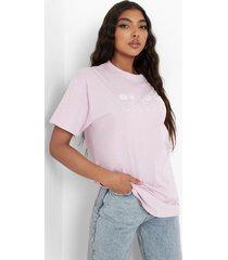 tall 'celeste' t-shirt, lilac