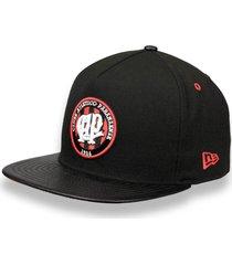 boné new era 5950 a-frame atletico paranaense aba reta preto