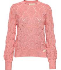 curious sweater gebreide trui roze odd molly