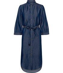 rue shirt dress jurk knielengte blauw soft rebels