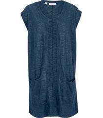 maxi gilet in maglia (blu) - john baner jeanswear