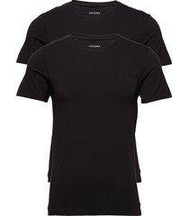 jbs 2-pack o-neck bamboo t-shirts short-sleeved svart jbs