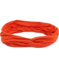 headband turbante bijoulux laranja - tricae