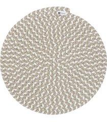 jogo americano orbis mix white 6 pecas - 36x36